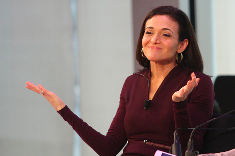 Sheryl Sandberg speaks onstage during Advertising Week 2015 AWXII on Sept. 29, 2015, in New York City Photo: Laura Cavanaugh/Getty Images for AWXII
